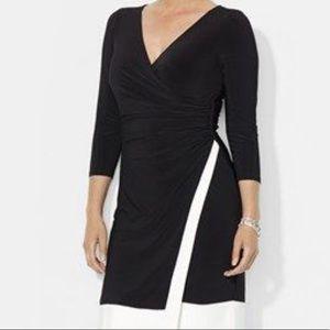 Ralph Lauren colorblock Wrap Dress